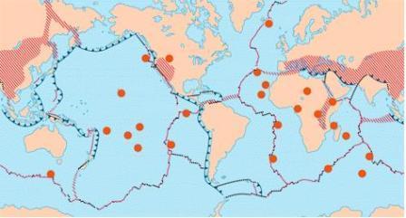 welke vulkanen zijn actief